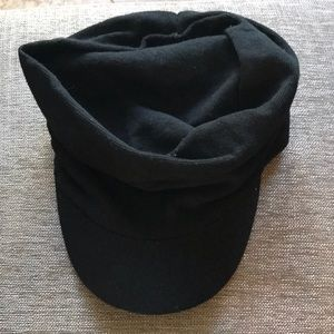 Black Conductor Hat